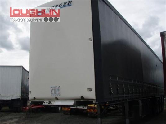 2016 Krueger Curtainsider Trailer Loughlin Bros Transport Equipment - Trailers for Sale