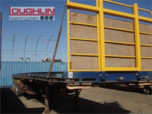 1998 Haulmark Flat Top Trailer Loughlin Bros Transport Equipment - Trailers for Sale