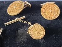 State Bar of Texas Cufflinks & Tie Pin