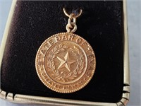 State Bar of Texas Necklace Pendant