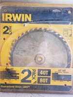 "12"" hitachi saw blade - used"