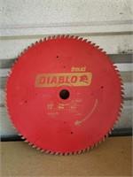 """12"""" freud Diablo saw blade - used"""