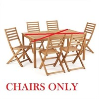 HAVANA DINING CHAIRS - CHAIRS ONLY