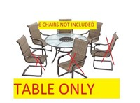 ST.LUCIA BY HAMOTON BAY DINING TABLE (TABLE ONLY)