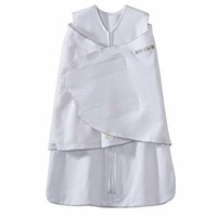 Halo Innovations Sleep Sack Cotton Swaddle, Silver