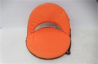 """As Is"" Stansport Go Anywhere Chair (Orange)"