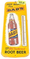 Dad's Root Beer Vintage Sign Thermometer