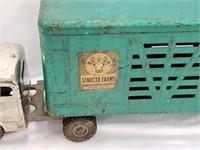 Vintage Structo Pressed Steel Cattle Trailer Toy