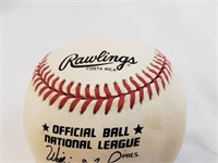 Stan Musial Signed Official Rawlings Baseball