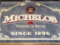 Vintage Michelob Advertisment Mirror Wall Decor