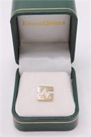 10K Yellow Gold Edward Jones Diamond Cufflink