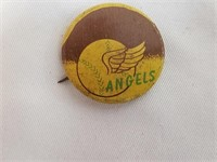 1966 Guys Potato Chips Angels Baseball Pin