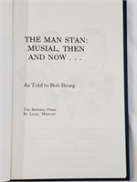 1977 The Man Stan: Musial Then And Now Book