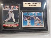 Frank Thomas Card Collectors Plaque