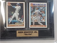 Ken Griffey Jr. Card Collectors Plaque