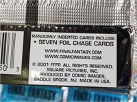 (25) 2001 Final Fantasy Collectors Cards Packs