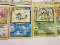 (38) Original Jungle Pokemon Cards W/ Rares