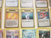 (100+/-) Original Base Set Pokemon Cards W RARES
