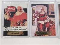 (8) 1993 Coca Cola Gold Edition Cards Partial Set