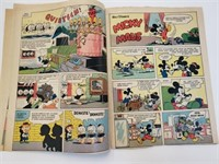 1955 Walt Disney's Micky Maus #2 German Comic Book