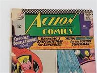 DC Action Comics Superman Supergirl Comic #339