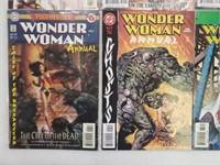 (20) DC Wonder Woman Comic Books