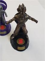 (7) Burger King Dragon Ball Z Figurines
