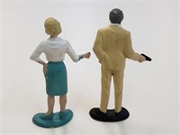 Gilberts 1960's James Bond 007 Figurines