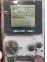 Game Boy Color With Super Mario Lands Game