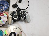 Large Lot Of Playstation I & II Games/Accessories