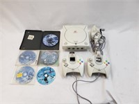 Sega Dreamcast Video Game System W/ Controllers