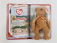 1999 Ty Germania Stuffed International Bear II