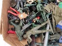 Miscellaneous Army & Military Toys Box Lot