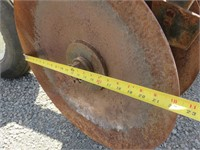 8' Sweco Hydraulic Wheel Disc