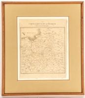 """Antique Map """"Carte du Royaume de Pologne"""""""