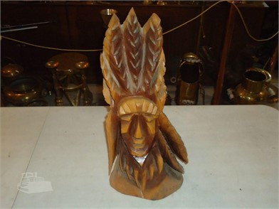 Hand Carved Wooden Indian Other Items For Sale In Indiana
