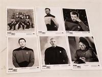 (6) Star Trek Publicity Pictures & Press Photos