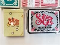 Vintage Las Vegas & Poker Playing Card Decks