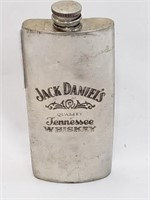 Jack Daniels Whiskey Flask Made In England