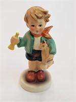 1981 German Goebel Hummel Little Boy With Horse