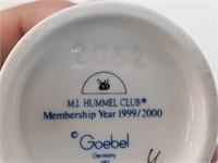 1998 German Goebel Hummel Little Girl Pigtails