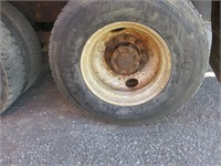(DMV) 1998 International 4900 DT466E Feed Truck w/