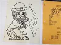 John Reilly Fanclub Signature, Booklets, Etc.