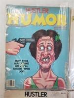 (4) Vintage 1980's Hustler Humor Magazines
