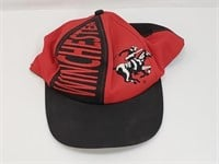 Red And Black Winchester Baseball Cap
