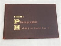 1945 Colliers Photographic History Of WWII Book