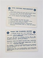 1950's Department OF Defense Nuclear Pamphlets