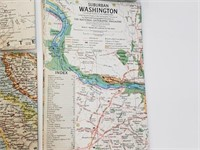 (9) National Geographic Foreign/Domestic Maps
