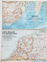 (8) National Geographic Foreign/Domestic Maps