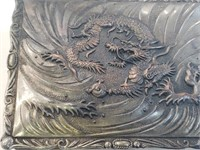Vintage Dragon Trinket Box